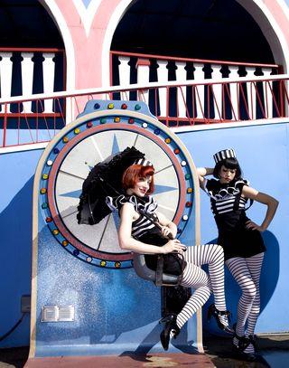 Broken Hearts by Neil Massey fun fair wheel 3